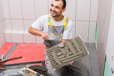 Install ceramic tiles